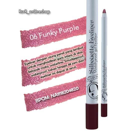 06 Funky Purple Eyeliner Madame Gie – Madame Gie Manado